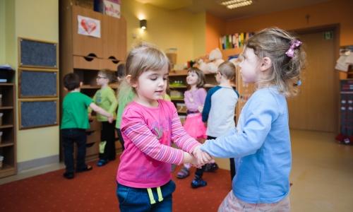 Pierwsze kroki w przedszkolu