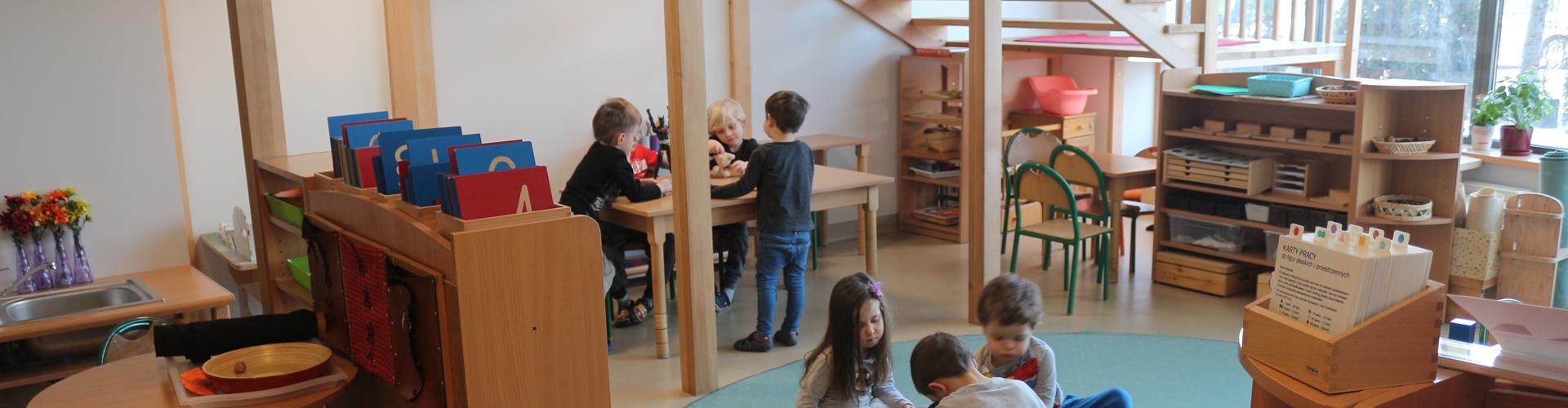 Grupy Montessori
