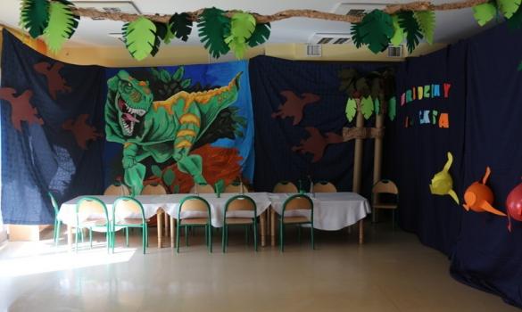 Urodziny z dinozaurami