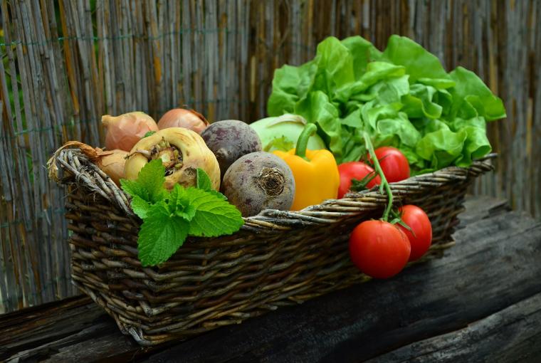 2. Pięć porcji warzyw każdego dnia!